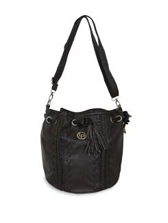 Brown Shoulder Bag - Lino Perros