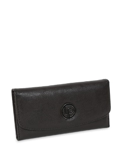 Coffee Brown Sleek Wallet - Lino Perros