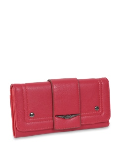 Two Toned Red Wallet - Lino Perros