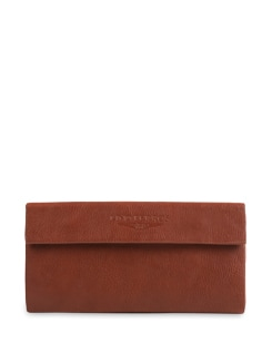 Brown Three Fold Wallet - Lino Perros