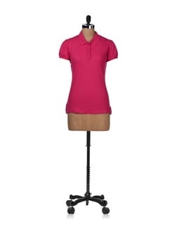 Classic Pink T-shirt - STYLE QUOTIENT BY NOI