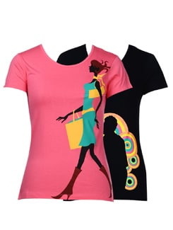 Summer tees-pack of 2 - STYLE QUOTIENT BY NOI