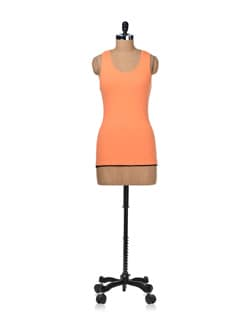 Neon Orange Racer-back Tank - STYLE QUOTIENT BY NOI