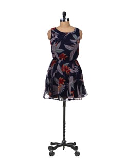 Julie Printed Dress - Besiva