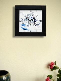 "Art Print Wall Clock- ""Murshidabad Fort"" By Swapan Das - Artfairie"