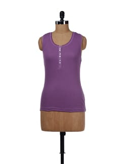 Lilac Tank Top - Evolution