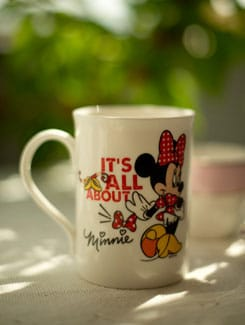 It's All About Minnie Milk Mug - Bharat Pottery