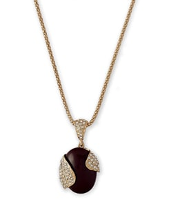 Wrap Pendant Necklace - THE PARI