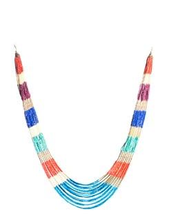 Colour Block Necklace - Accessory Bug