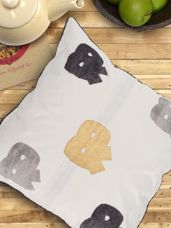 AND & Print Cushion Cover With Filler - KIWAAD