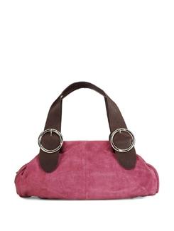 Pink Suede Tote Bag - ADAMIS