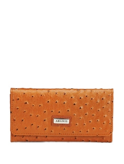 Dotted Tan Brown Wallet - ADAMIS