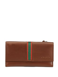 Classic Coffee Color Wallet - ADAMIS