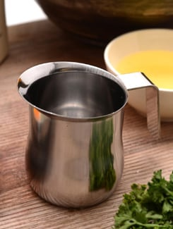Stainless steel milk pot - I-PAC - ITALY