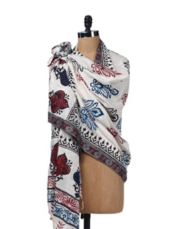 Traditional Prints-dupatta - SONJATO SEN