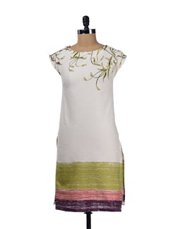 Pretty Flora Prints Kurta - W