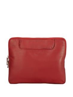 Elegant Red Laptop Bag - ADAMIS