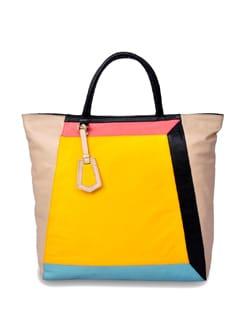 Multicolor Tote - Brune