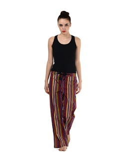 Multicoloured Striped Pyjamas - Miss Chase