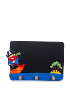 Multicoloured Black Board Pirate - Vividha