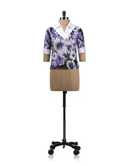 Printed Floral Shirt - JUST IN TIME 2149