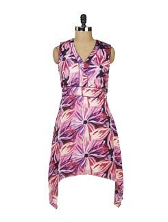 Pink Floral Summer Dress - MARTINI