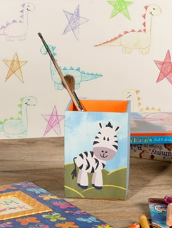Zebra Pen Stand - TREASURE  HUNT