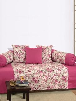 Floral Print Diwan Set - SWAYAM
