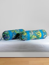 Tropical Print Bolster Covers (Set Of 2) - SWAYAM