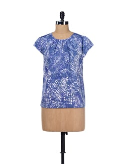 Blue Slither Top - ESCA