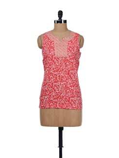 Red Blossom Top - ESCA