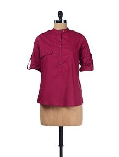 Stylish Cotton Shirt - ESCA