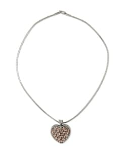 Silver Heart Pendant Necklace - Addons