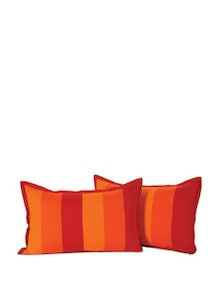 Multi Colour Stripes Pillow Cover