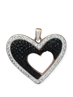 Hearts-in-heart Crystal Pendant - Sparkling Deals
