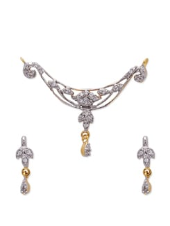 Charming Pendant Set - Aishwarya Jewellery