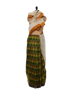 Chanderi Printed Saree - URBAN PARI