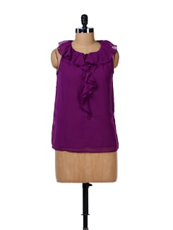 Stylish Frill Top - House Of Tantrums