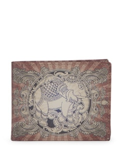 Classic Elephant Print Wallet - Mad(e) In India