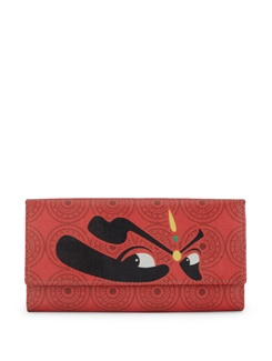 Kathakali Eyes Print Clutch - Mad(e) In India