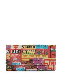 Horn Ok Print Clutch - Mad(e) In India