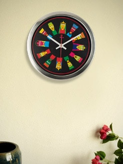 Puppet Print Wall Clock - Mad(e) In India