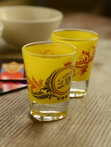 Tiger Shot Glasses - Set Of 2 - Mad(e) In India