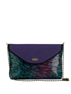 Glossy Purple Party Sling - YELLOE