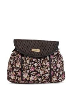 Floral Brown Sling - YELLOE