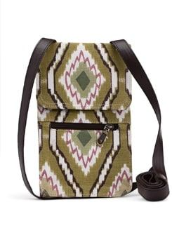 Sage Green Ikat Cross Body Bag - SUNNY ACCESSORY