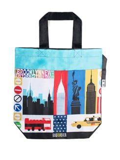 Printed Shopping Bag - BAGFOREVER 2523