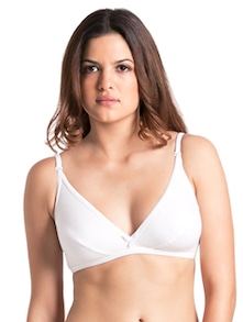 White Everyday Basic Bra - PrettySecrets