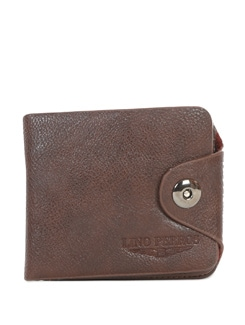 Classic Brown Multipurpose Wallet - Lino Perros