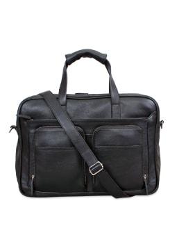 Black Business Briefcase - Brune